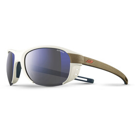 Julbo Regatta Octopus Sunglasses White/Light Brown-Multilayer Blue